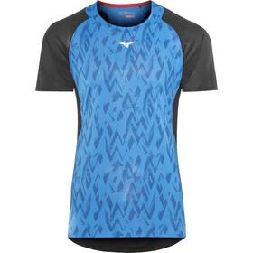 Mizuno Aero - Camiseta Running Hombre - azul/negro